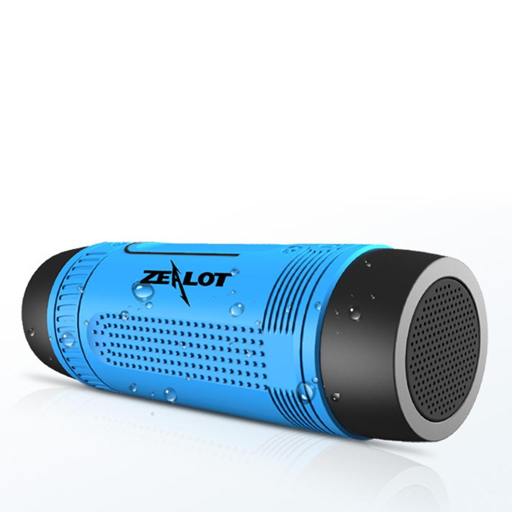 Wireless Bluetooth Flashlight Mobile Power-Bank Microphone Torchlight Speaker