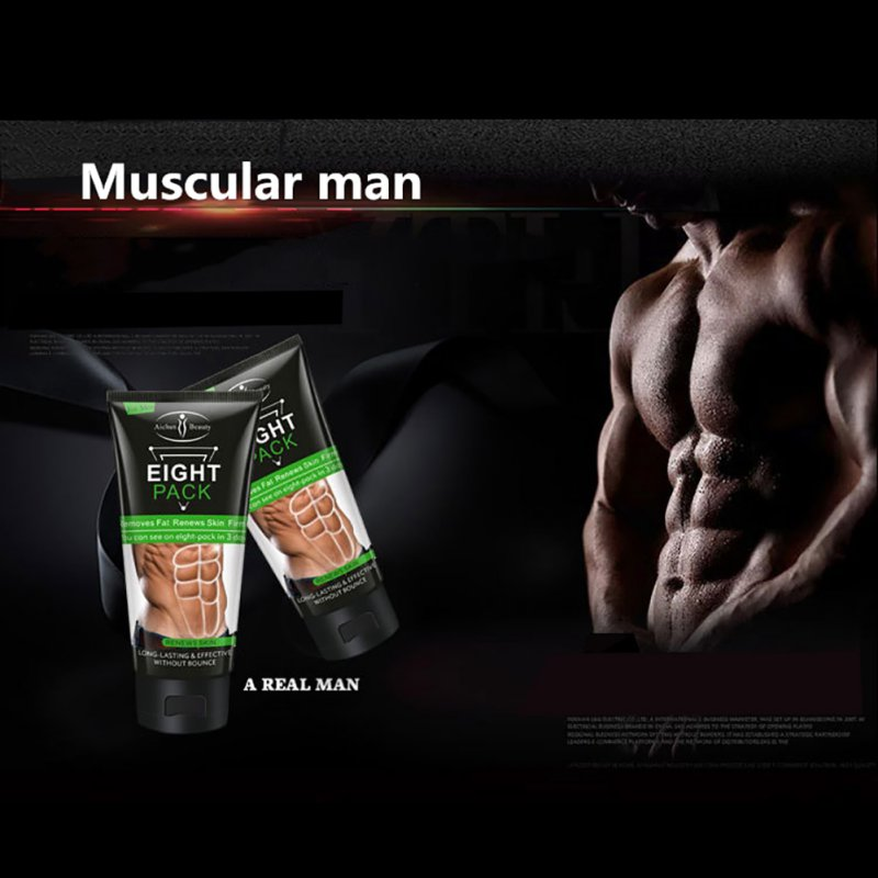 Men Abdominal Muscle Cream Body Care Cream Stronger Muscle Strong Anti Cellulite Burn Fat Product Weight Loss Cream Men