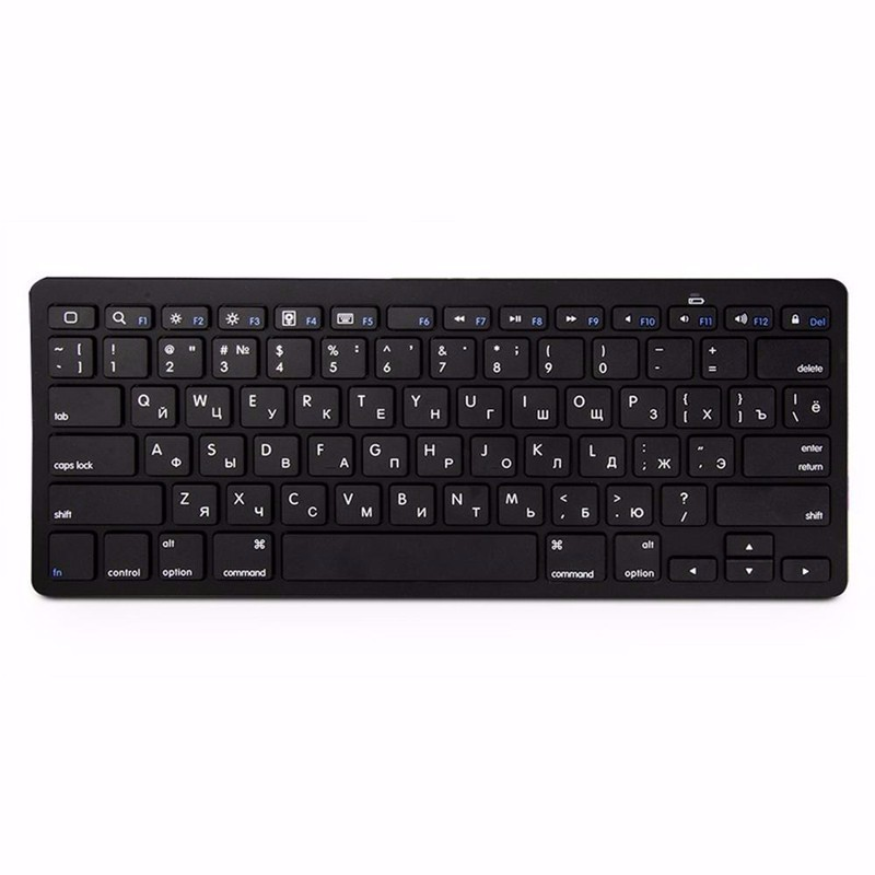 kemile Russian Wireless Bluetooth 3.0 keyboard untuk Tablet Laptop - Periferal komputer - Foto 2