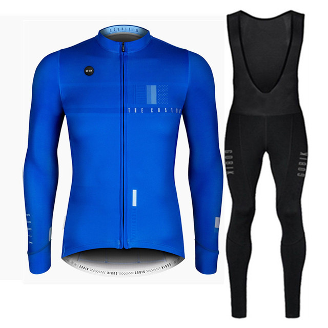 2018 maillot ciclismo gobik Pro darkness Inverno hombre COBBLE ELECTRIC  winter thermal fleece cycling jersey long sleeve Custom cd62b8c42