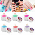 1pcs 8ml Bottle Pure Gel Polish 36 Colors Nail Art DIY UV Gel Polish Tips Extension Bio Gel Lacquer Wholesaler
