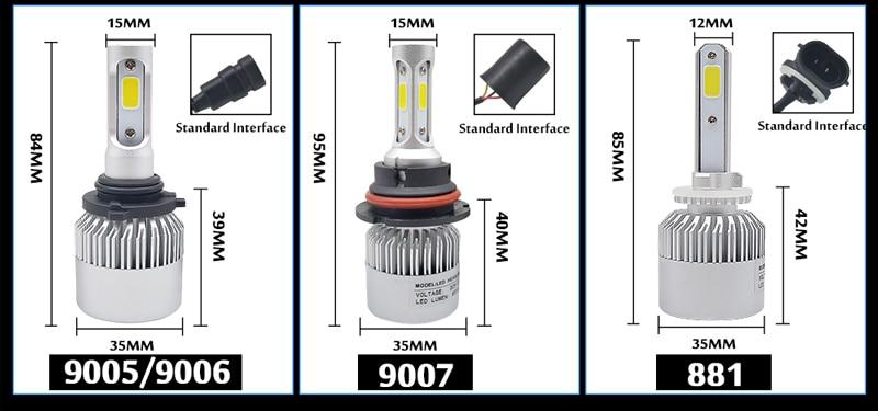 HID Xenon 55W Conversion Headlight KIT H1//H3//H4//H7//H11//9005//9006//880//881// ddcc