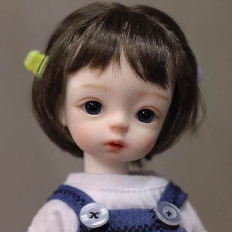 Top Quality New Arrival 1/6 BJD Doll BJD/SD Cute Resin Doll With Eyes For Baby Girl Birthday Gift кукла bjd dc doll chateau 6 bjd sd doll zora soom volks