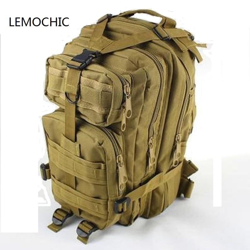 LEMOCHIC tactique sac de camping En Plein Air sport mâle Camouflage femmes voyage sac randonnée attaque paquets tactique militaire sac à dos