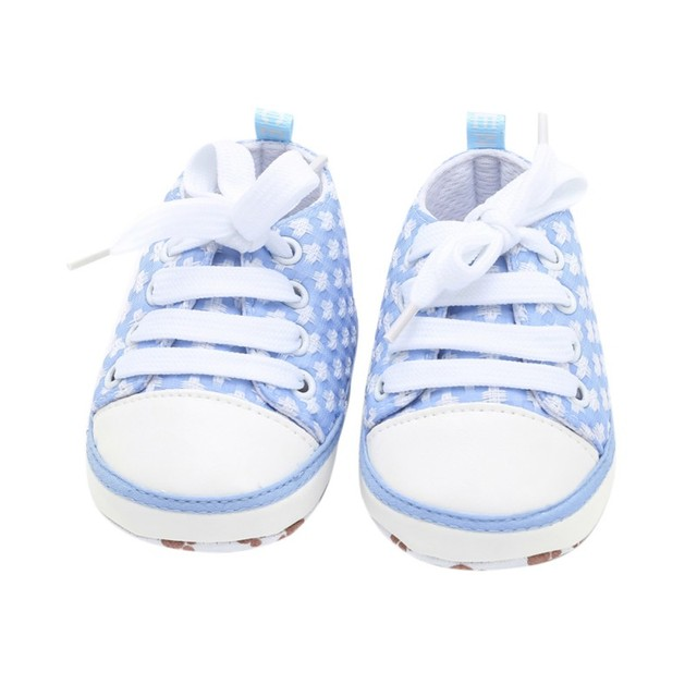 0e077ae7b8ecc Baby Shoes Canvas Classic Sport Sneakers Newborn Baby Boys Girls First  Walkers Infant Toddler Soft Sole Non-slip Baby shoes