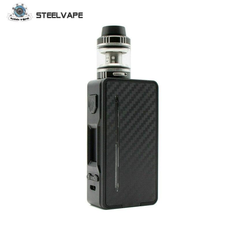Original Steelvape Aurora 80 W boîte Mod kit 3 ml réservoir Fit 18650 batterie TC Cigarettes électroniques Vape Mod 2018 nouveau VS SMOK AL85