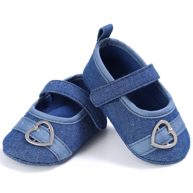 Raise Young Spring Summer Cotton Baby Girl First Walkers Fashion Soft Soles Toddler Girl Shoes Newborn Infant Footwear 0-18M