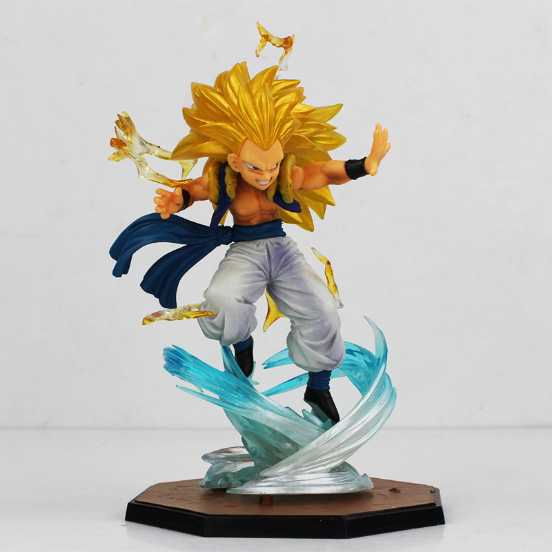 figurine 'dragon ball' super saiyan 3 – gotenks