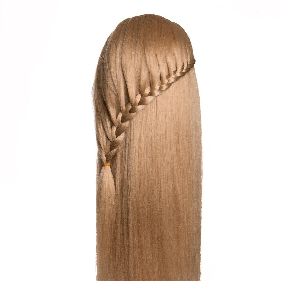 frisør dukker hode kvinnelig mannequin frisør styling treningshode - Hårpleie og styling - Bilde 5