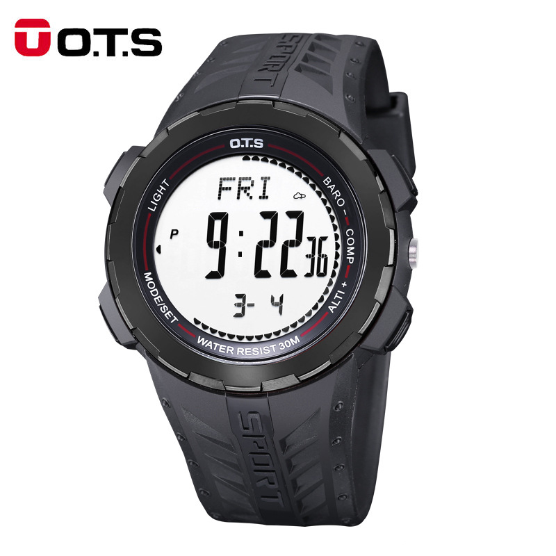 OTS Mens Watches Top brand luxury Digital Watch Men Sports Watches Outdoor Compass Waterproof  Alarm Clock WristwatchOTS Mens Watches Top brand luxury Digital Watch Men Sports Watches Outdoor Compass Waterproof  Alarm Clock Wristwatch