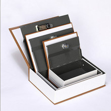 Key Money Medium-Sized Creative Book Safe Deposit Box Color Printed Book Safe Deposit Box Simulation Book(China)