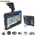 TOPSOURCE 7'' Car DVR GPS Navigation Android 16GB/512MB Truck Car GPS Navigator Tablet PC Car Radar Detector Free Map Truck GPS