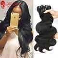 Brazilian Virgin Hair Body Wave 3 Bundles/Lot Brazilian Body Wave Rosa Hair Products Unprocessed Brazilian Hair Weave Bundles