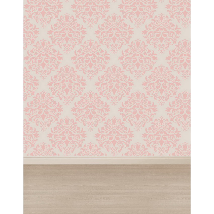 Custom vinyl cloth pink damask wallpaper photography backdrops for wedding newborn doll photo studio portrait backgrounds S-2361 12 ft vinyl cloth birthday pink love heart wall photo studio backgrounds for newborn portrait photography backdrops props s 2287