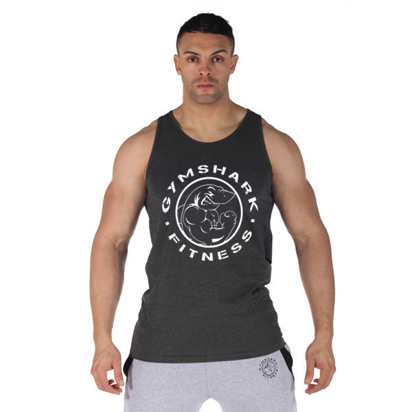 94f6d89ee0399 M XXL 2015 cotton gymshark tank top men Sleeveless tops for boys bodybuilding  clothing workout stringer vest-in Tank Tops from Men's Clothing &  Accessories