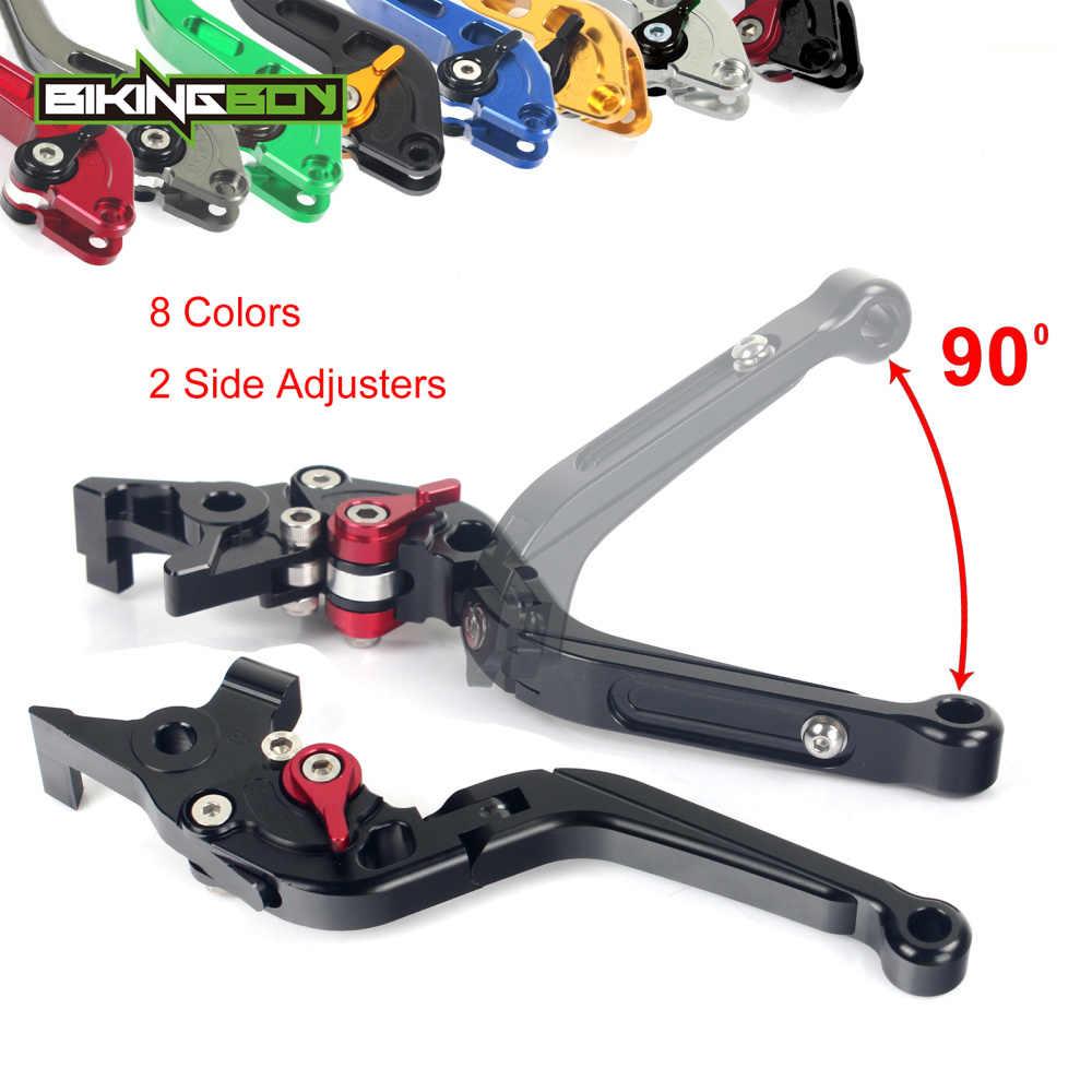 Palancas de embrague de freno y freno plegables CNC para motocicleta Honda VFR 750 1991 1992 1993 1994 1995 1996 1997