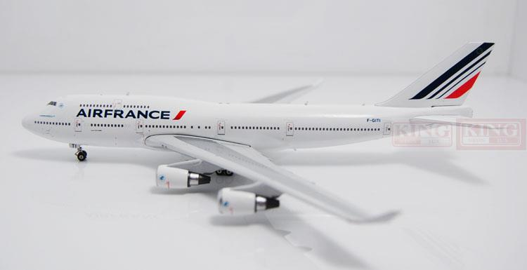 Phoenix 10854 Air France F-GITI 1:400 B747-400 commercial jetliners plane model hobby green lantern v3 the end