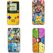 Pokemons Poke Ball Phone Cases Pokemons Go Pokeball Transparent Clear Case Cover for Apple iPhon 5