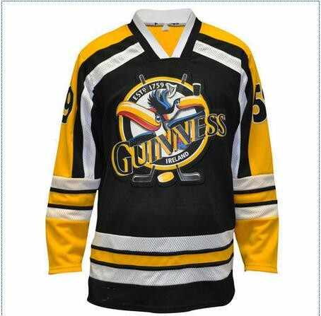 Vintage Ireland Guinness Toucan 59 Hockey Jersey Embroidery Stitched  Customize any number and name Jerseys 0cb7f9bdb