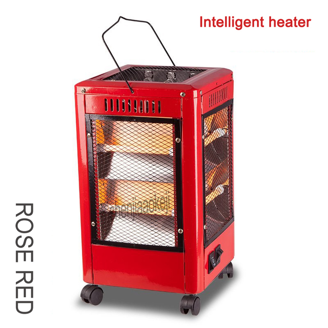 2kw Multi-function air heater home use heater & barbecue dual-use Five-sided speed hot Electric warmer Third gear adjustable 1pc