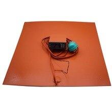 Силиконовая кровать с подогревом с цифровым контроллером для Creality CR-10 серии 310-310410-410510-510 мм, чтобы разрешить нагревание кровати до 100C