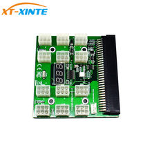 PCI-E 12 v 64Pin om 12x 6Pin Voeding Server Adapter Breakout Board voor HP 1200 w 750 w PSU server GPU BTC Mijnbouw(China)