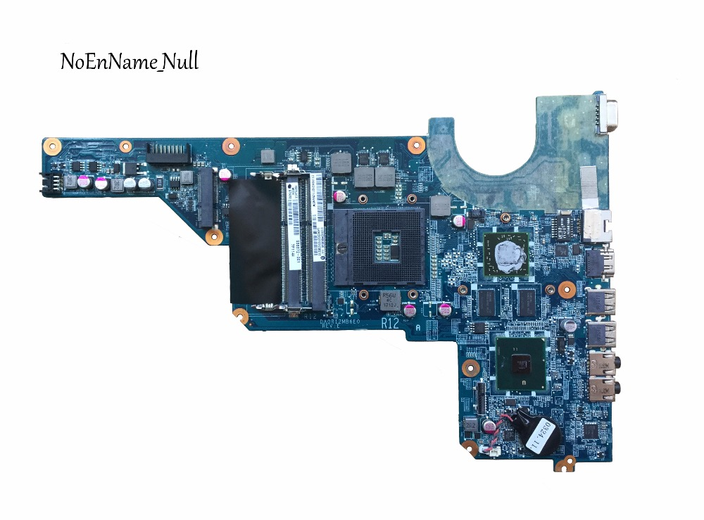 Free Shipping Motherboard 636372-001 For HP Pavilion G6-1000 G4 G7 Laptop Motherboard HM55 6470/1G DA0R12MB6E0 DA0R12MB6E1