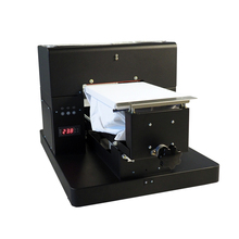 Free shipping Economic A4 Size DTG T-Shirt Printer Directly to Print light and Dark Color garment Flatbed Printer machine