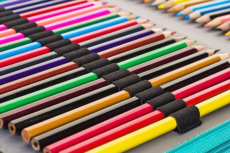caixa de lápis 120 160 buracos caneta