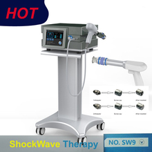 Top quality Effective Physical Pain Therapy System Acoustic Shock Wave Extracorporeal Shockwave Machine For Relief Reliever