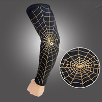 1 Pair Spider Net Web Basketball Running Sunscreen Elbow Pads Support Protector Protect Elbow Pads