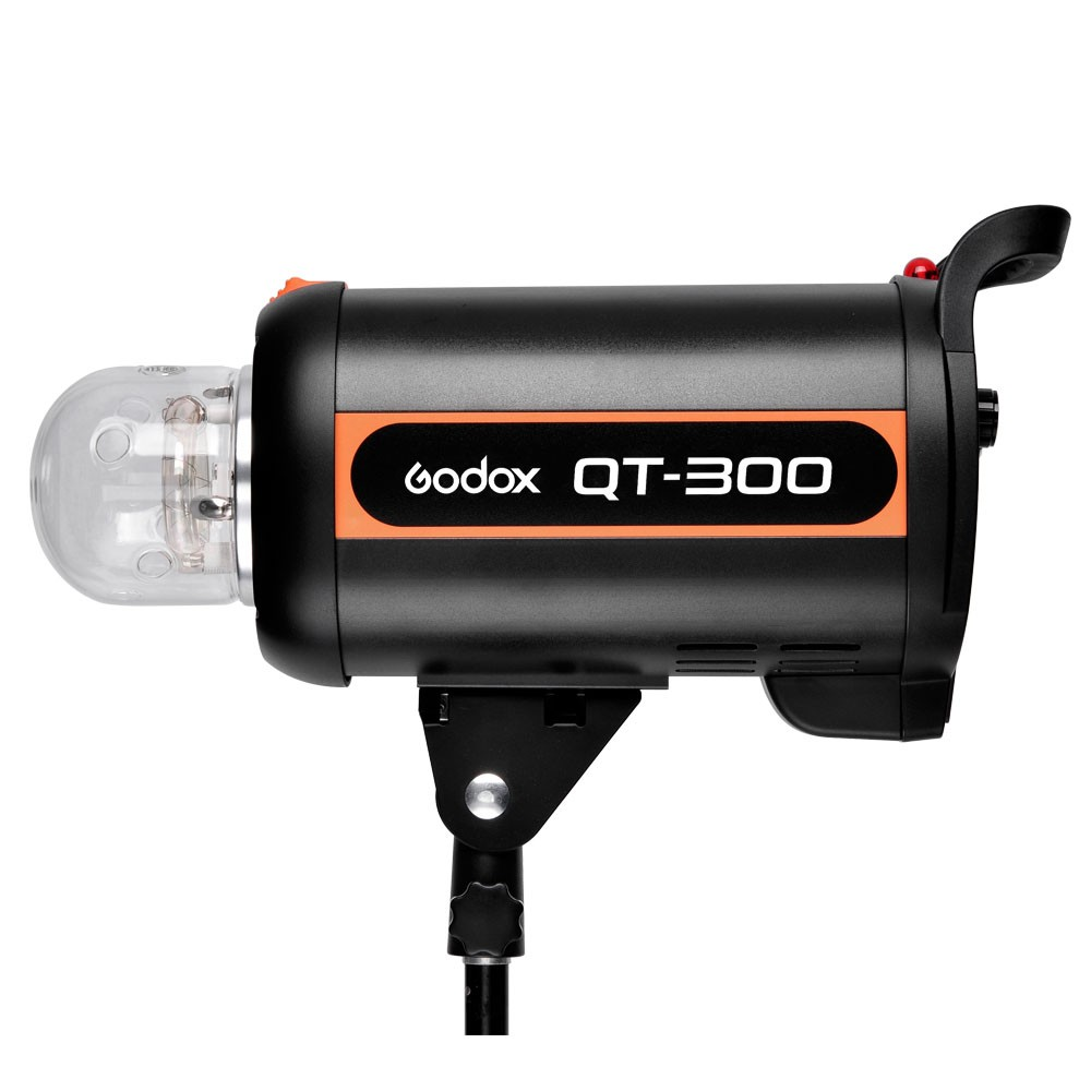 Godox QT-300 800W Fast Duration Flash Lighting Lamp Studio Strobe Head 1/5000s AC100-120V/60Hz