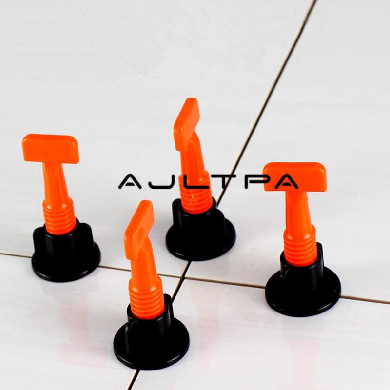 50Pc/Bag Tile Alignment Tile Leveling System Carrelage Clip Adjustable Locator Spacers Plier Level Wedges Hand Tools H4484