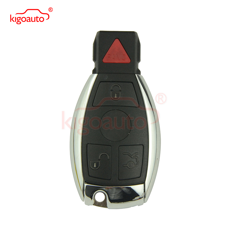 315Mhz BGA Smart key 3 button with panic for Mercedes E350 C350 ML350 SLK350 GLK350 2009 2010 2011 kigoauto