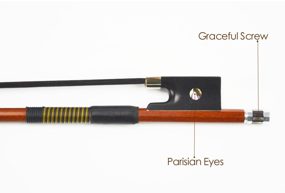 China wood violin bow Suppliers