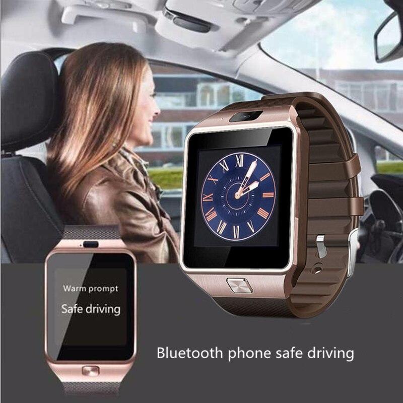 OGEDA Dispositifs Portables DZ09 Montre Smart Watch Électronique Montre-Bracelet Pour Smartwatch Téléphone Android Smartphone Santé Smartwatches