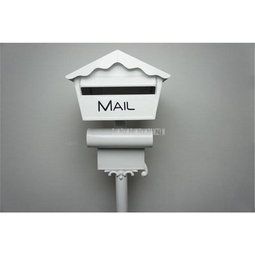 Mordern Security Metal Stand Mailbox Postbox Metal Outdoor Letterbox Garden Park Secure Mail box Letter Box Height 128cm 1023bMordern Security Metal Stand Mailbox Postbox Metal Outdoor Letterbox Garden Park Secure Mail box Letter Box Height 128cm 1023b