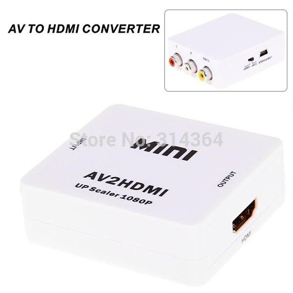 Wholesale RCA To HDMI AV To HDMI 720P 1080P AV2HDMI Mini Converter Signal Converter