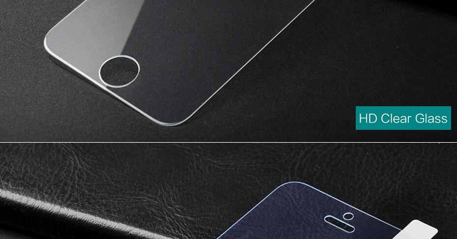 CHYI bez odcisków palców matowe szkło dla iphone 5s SE 5C ochraniacz ekranu oleofobowa powłoka 9 H dla iphone 7 8 plus xs Max XR szkło 36