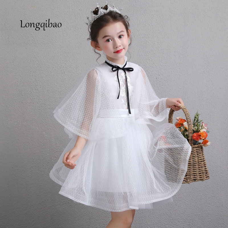 Baby girl stage catwalk dress Korean version of the flower girl wedding girl piano small host costumes birthday evening dressBaby girl stage catwalk dress Korean version of the flower girl wedding girl piano small host costumes birthday evening dress