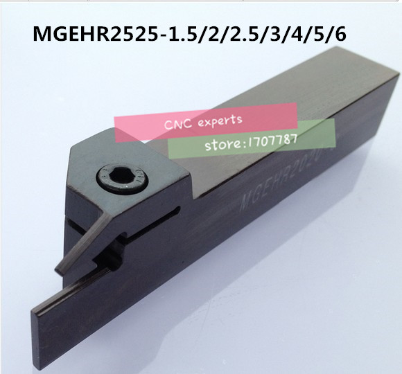 MGEHR2525-1.5 MGEHR2525-2 MGEHR2525-2.5 MGEHR2525-3 MGEHR2525-4 MGEHR2525-5 MGEHR2525-6 CNC Lathe External Turning Tool Holder