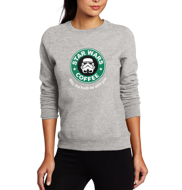 Star Wars Women Sweatshirt – Coffee