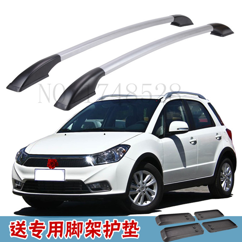 Free of punch Auto parts Refitting the roof rack of aluminum alloy luggage rack for Suzuki SX4 1.3M Accessories free shipping fiesta hatchback high quality aluminum roof rack luggage rack punch free 1 3 m