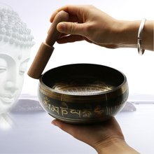 The Buddhist temple activities Home Furnishing feng shui ornaments Nepal Buddha bowl Tibet music therapy Yoga bowl copper