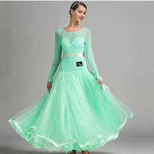 5 colors blue ballroom competition dress ballroom tango dresses standard ballroom waltz dresses ballroom dancing dress fringe