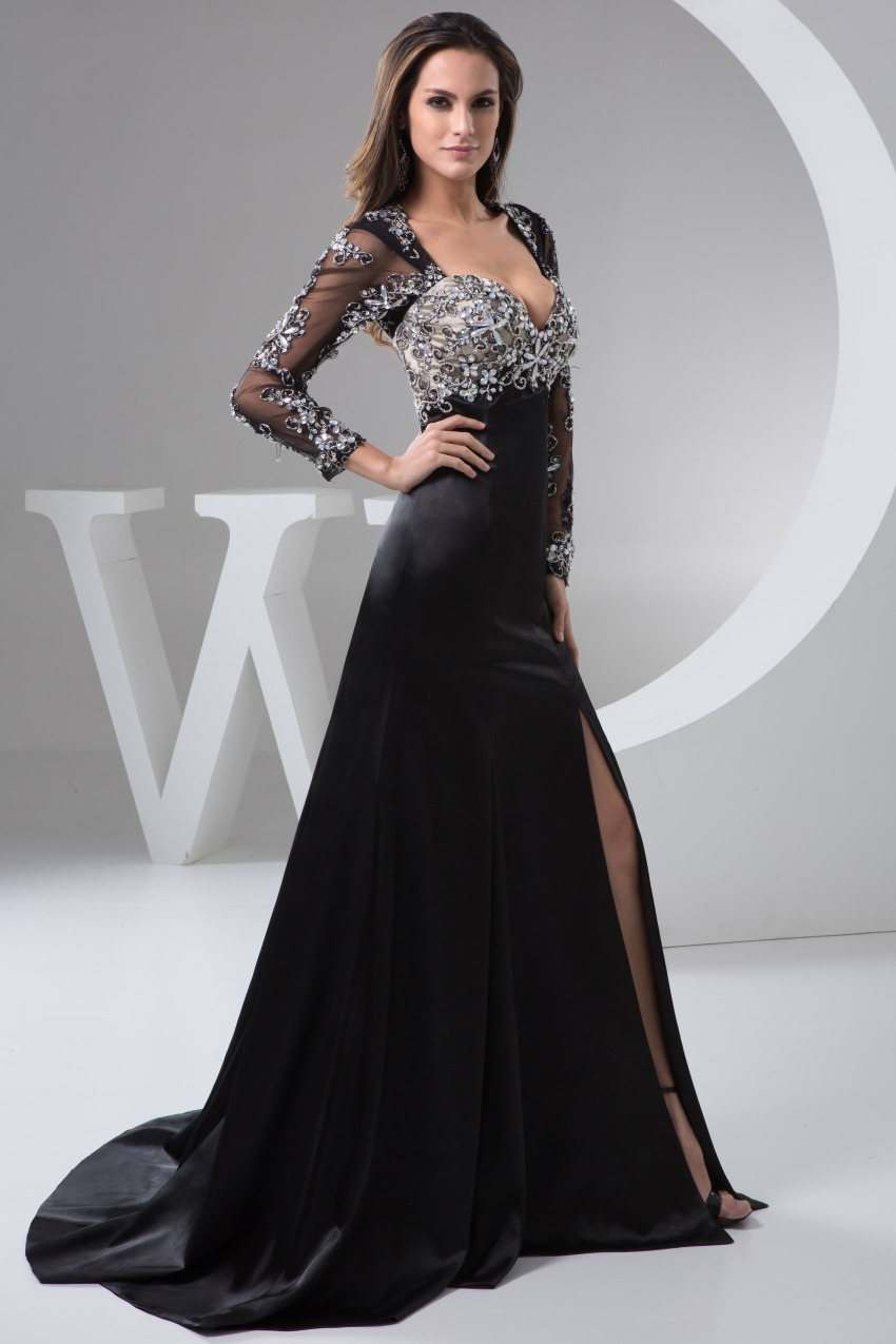 Sexy Backless Long Sleeves Mermaid Evening Dresses 2017 New Arrivals ...