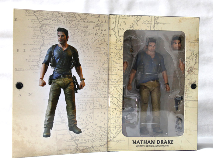 NEW POP Game Uncharted 4 A Thief's End Ultimate Nathan Drake NECA Action Figure 18cm брелок uncharted 4 game coin