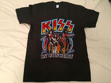 KISS Shirt Vintage tshirt 1979 Alive In 79 Tour Gene Simmons Band GILDA REPRINT  t shirt men