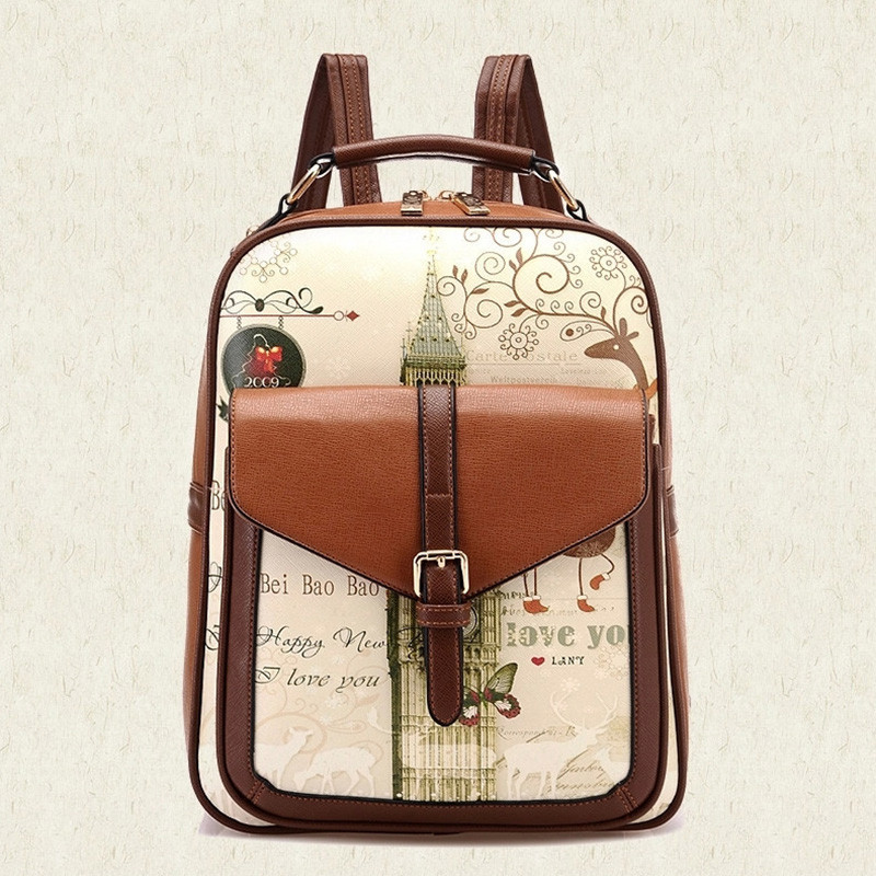 Compare Prices On Boys Pu Online Ping Low Price Vintage Canvas Backpack Ebay