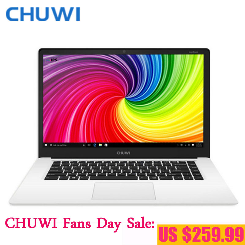 CHUWI Fans Day! CHUWI LapBook 14.1 Inch Laptop Notebook PC Window 10 Intel Apollo Lake N3450 Quad Core 4GB RAM 64GB Matte Screen